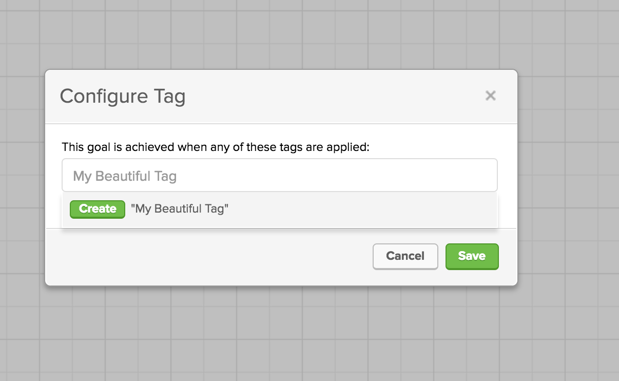 how to create a tag in infusionsoft