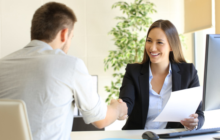 business management hire first employee