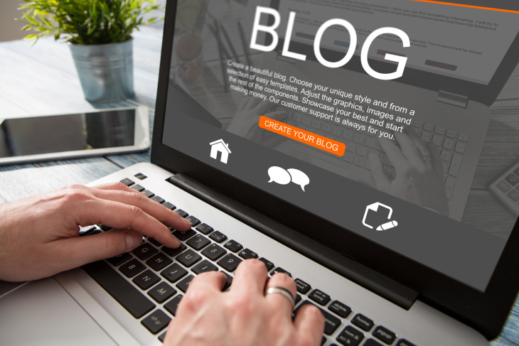 how to start blogging for small business