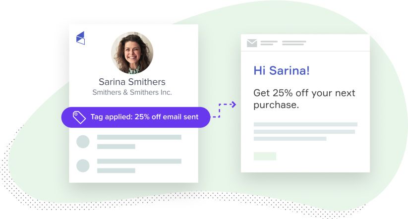 Send personalized emails to your clients