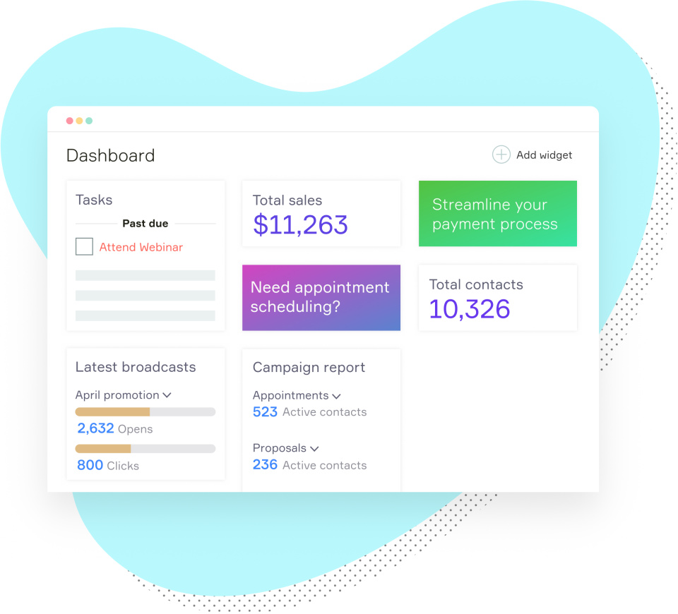 Infusionsoft: Small Business CRM, Sales & Marketing Software