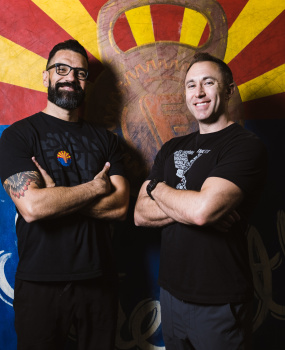 Picture of FunkFit's founders