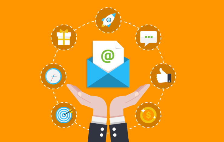 email marketing illustration
