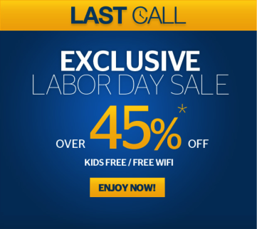 497f1e11 Why it works: Most places hike prices up for travel on Labor Day since it's  such a busy, high-demand time. Iberostar takes advantage of this.