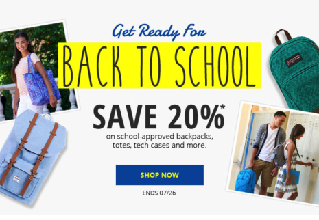 ebags sales promotion examples
