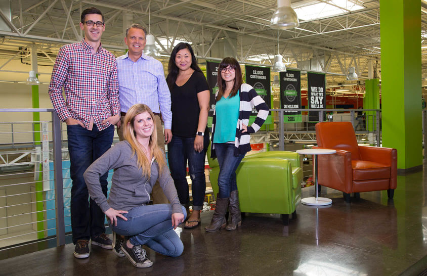Several Infusionsoft employees