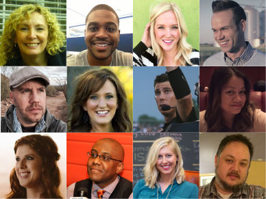 image collage of Infusionsoft employees