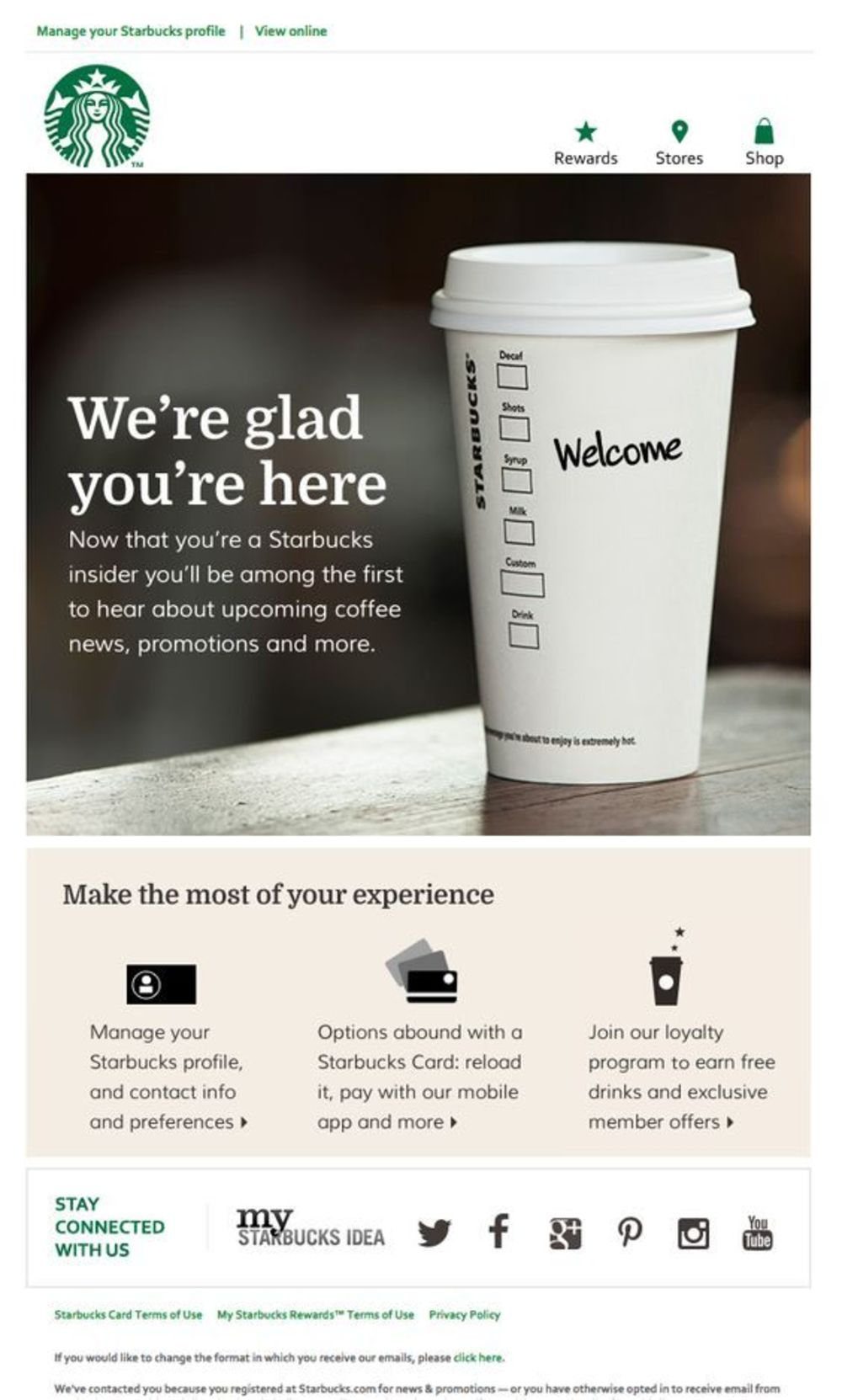 Starbucks example