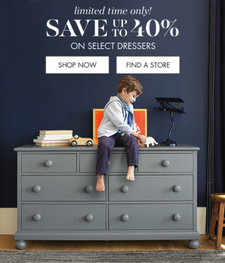 potterybarnkids sales promotion example