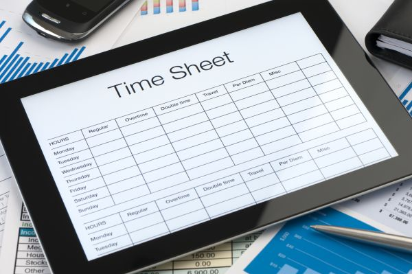 Employee timesheet