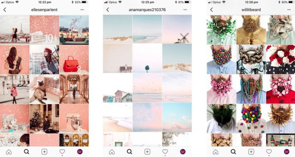 Instagram themes
