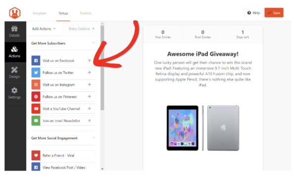 How to create giveaway contests that drives traffic to your
