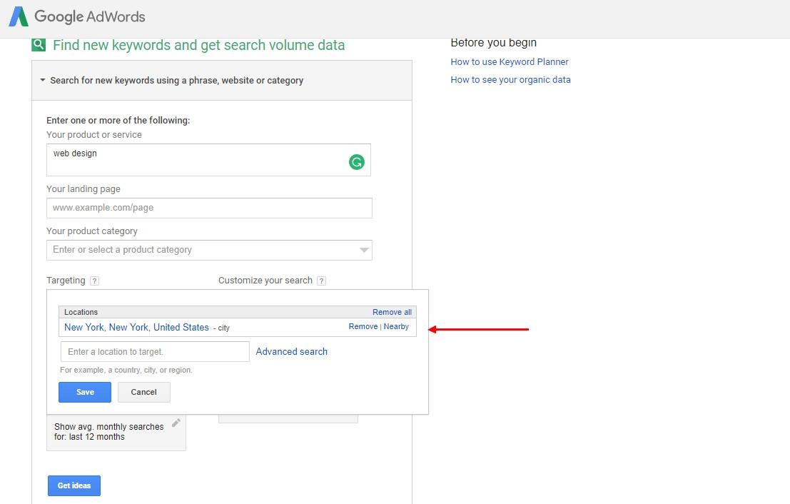Google Adwords find new organic keywords