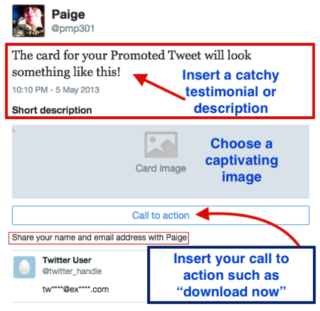 Example of using a Twitter ad card for promoting a Tweet.png
