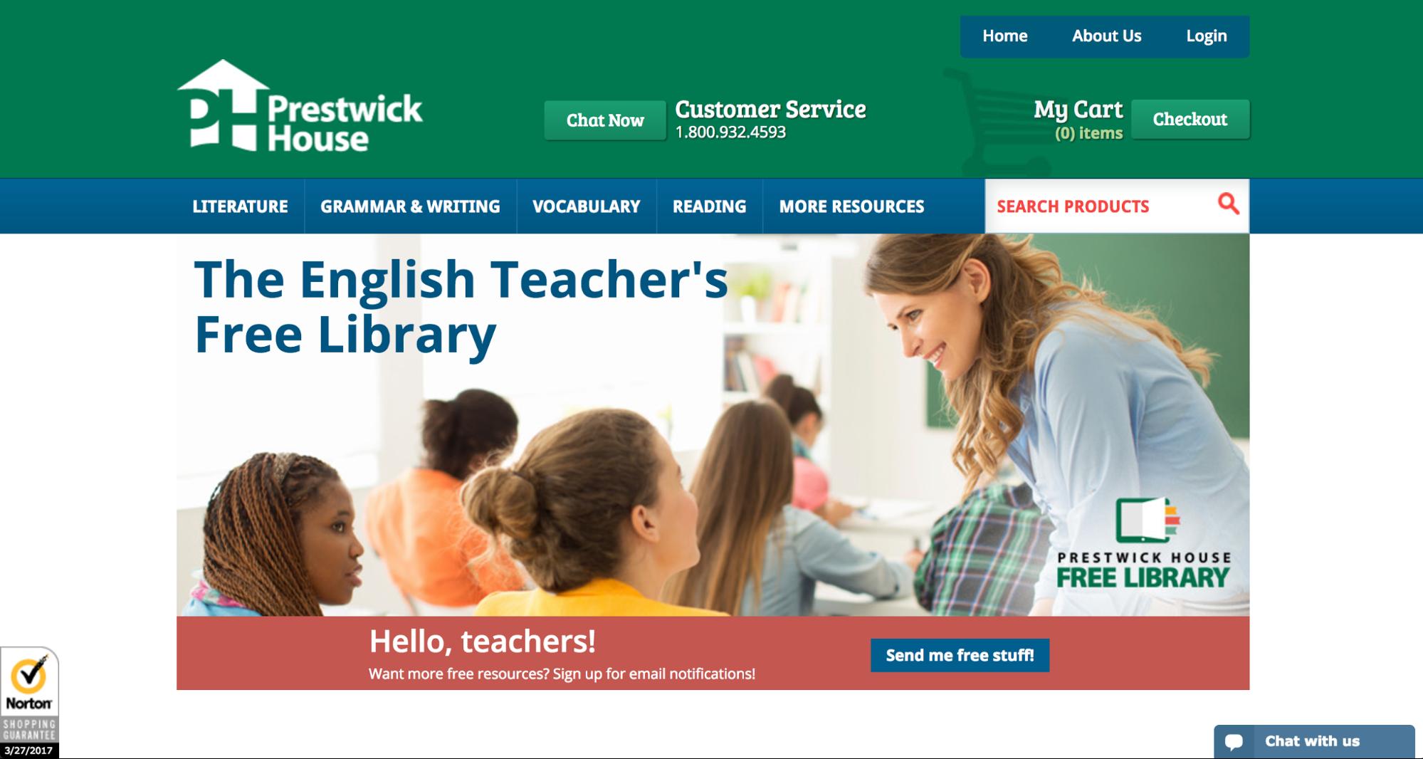 English Teacher's Free Library