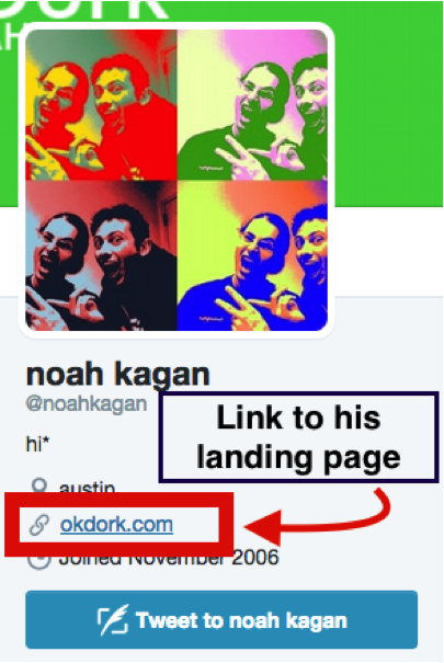 Example of a Twitter bio with a link to a landing page.png