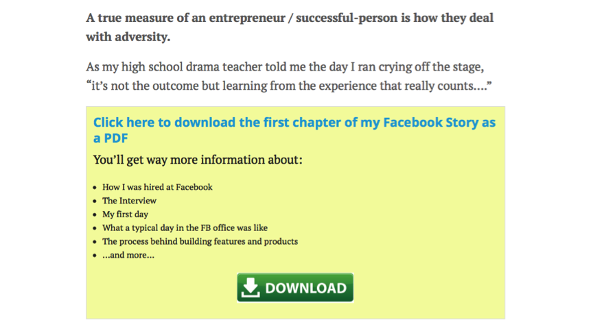 Opt-in form at the bottom of Facebook story to read the rest of the chapter.png