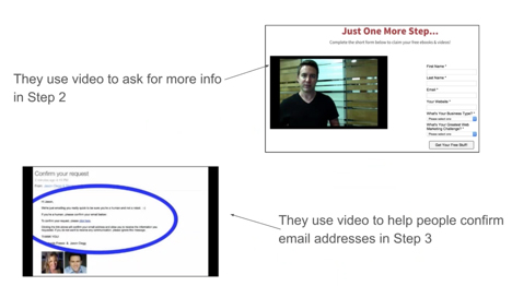 Convert with content screenshot showing how they use video